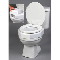 Ableware 725790002 Secure-Bolt Elevated Toilet Seat