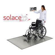 Detecto Solace In-Floor Dialysis Scales with Printer