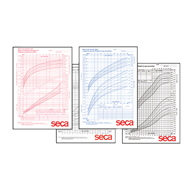 Seca 405 Growth Charts-0-36 months-Pack of 100